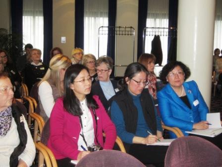 Teilnehmerinnen aus China.