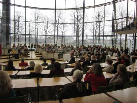 Festveranstaltung zum Internationalen Frauentag im Landtag Dresden