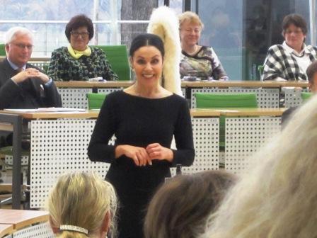 Katrin Weber, Sängerin und Schauspielerin